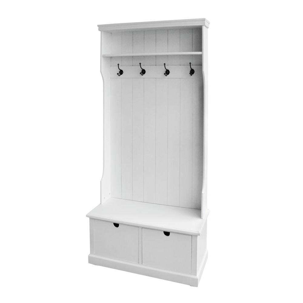 Arredo shabby mobile desiree da ingresso in stile shabby in legno bianco cod 6222 - Mobili ingresso mercatone uno ...