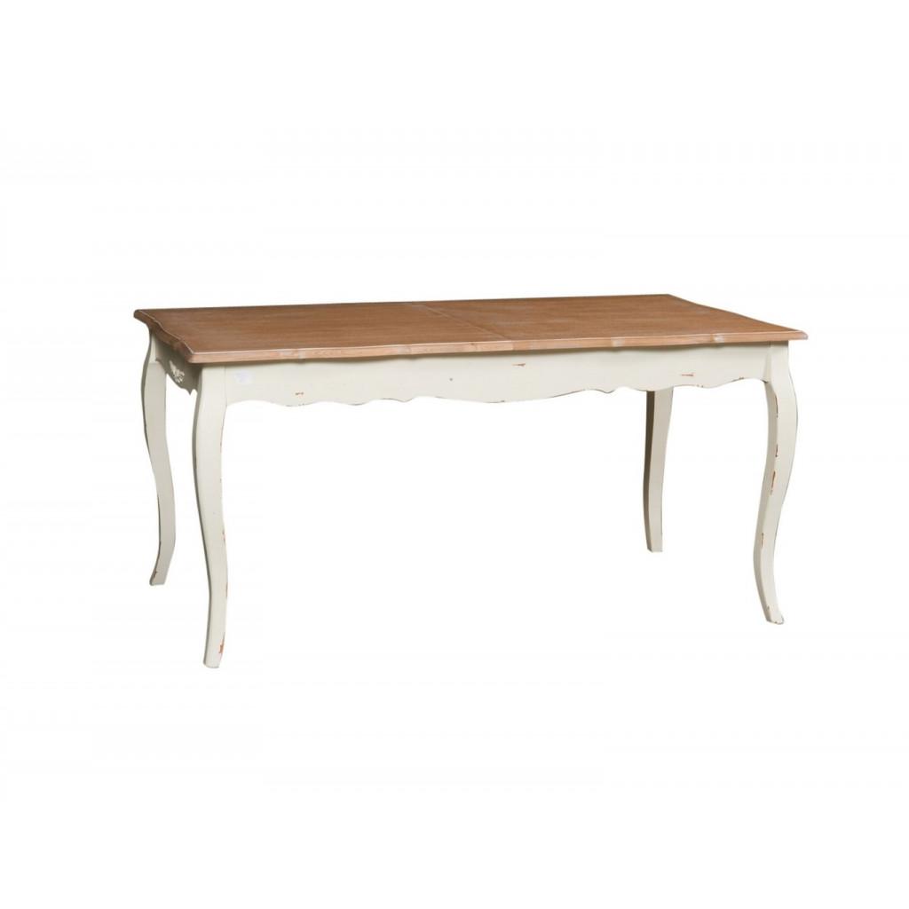 Arredo shabby tavolo allungabile decap cod 6225 for Arredo shabby shop online