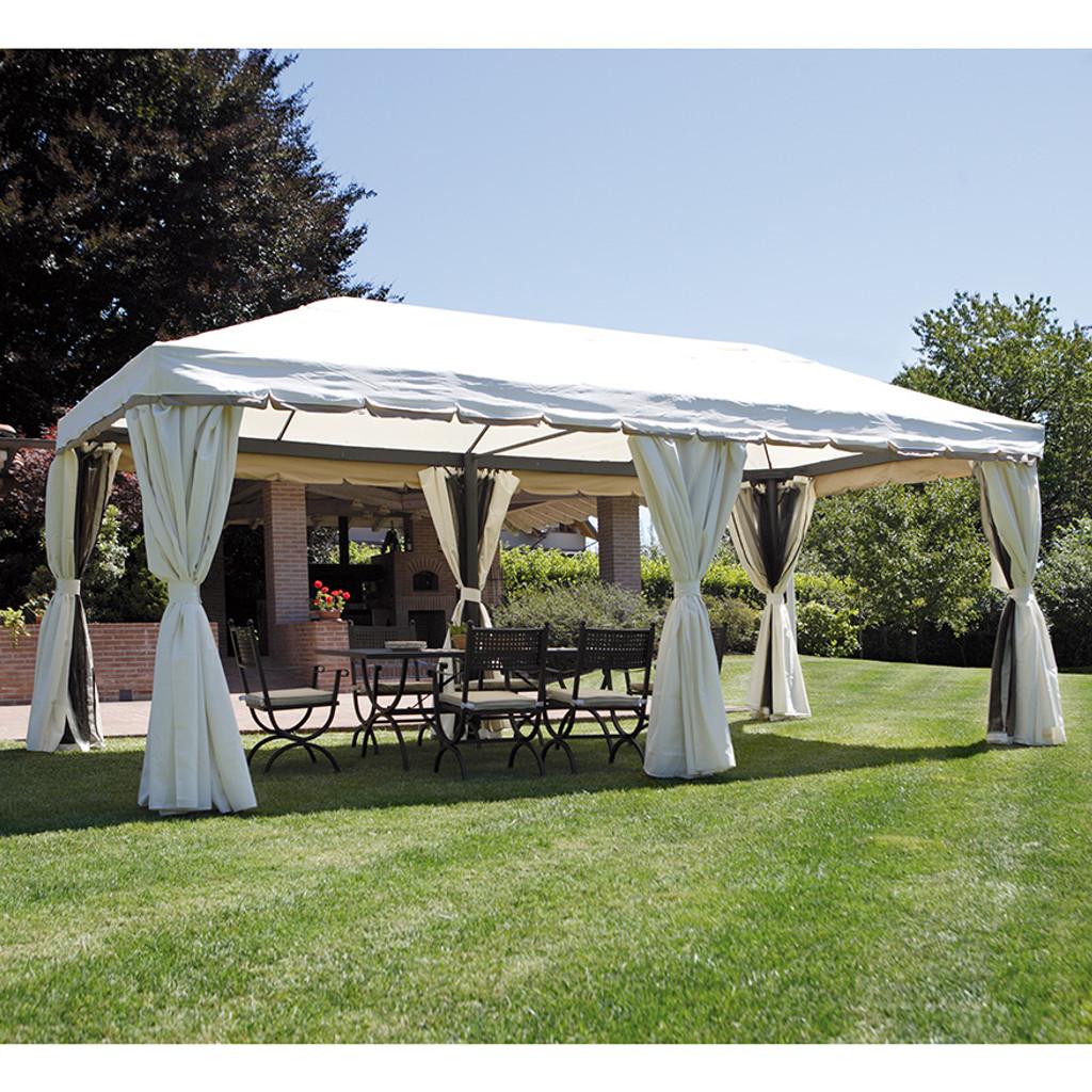 Greenwood gazebo 6x3 m alluminio cod 4084 - Gazebo giardino ikea ...