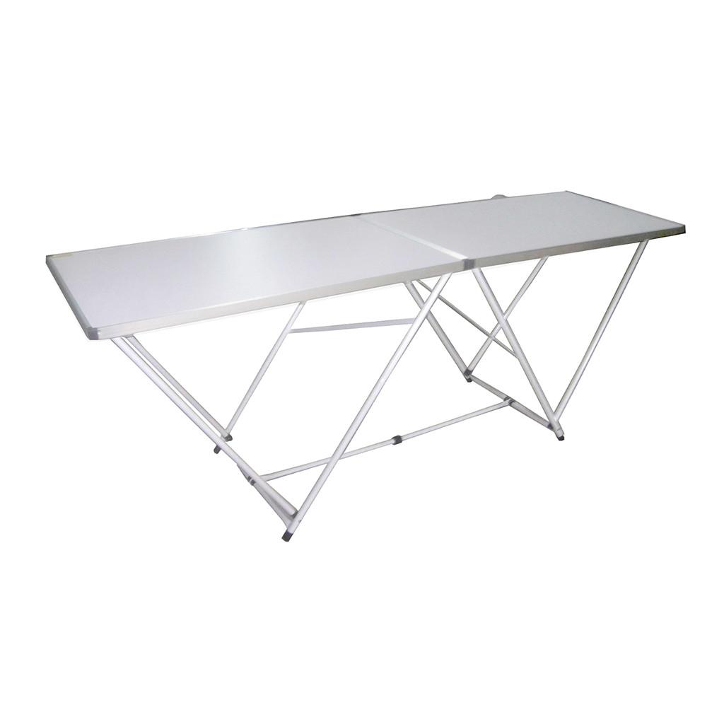 Greenwood tavolo pieghevole in alluminio cod 4070 for Tavolo in alluminio