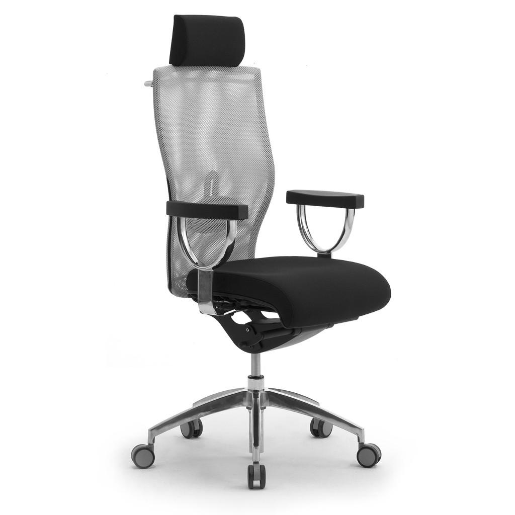 leyform sedia da ufficio egolux con poggiatesta cod 3613